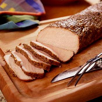 Lomo de cerdo acaramelado
